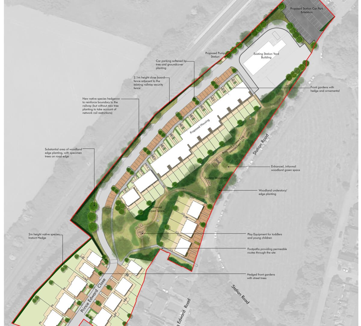 Christs Hospital Residential Masterplan