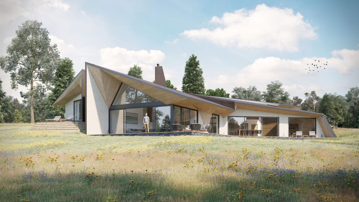 Weald House- Image by Ecotecture architects Para55